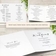 How To Create An Event Program Booklet 008 Template Ideas Free Downloadable Wedding Program Booklet