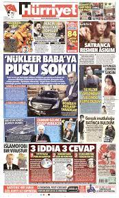 Hürriyet Gazetesi - Hürriyet Manşet Oku - Haberler 29 Kasım 2020