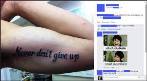 никогда не сдавайся тату надписи тату на испанском татуировки