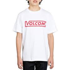 Volcom Big Boy Size Chart Volcom Big Boys Vol Corp Short Sleeve Tee White Size Large Ebay