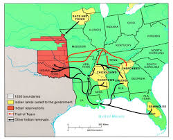 trail of tears native americans truth behind the teepee routes