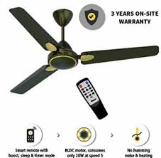 gorilla energy saving 5 star rated 1200 mm premium ceiling fan with remote control and bldc