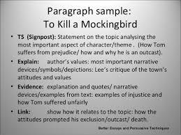 in essays signposting in essays