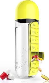 <b>Бутылка органайзер</b> Asobu In style (<b>0</b>,<b>6</b> литра) желтая, шт ...