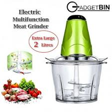 <b>Powerful</b> Multipurpose <b>Electric</b> Meat Grinder Mincer <b>Chopper 2L</b> ...