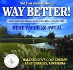 Mallard Cove Golf Course / City of Lake Charles, Louisiana