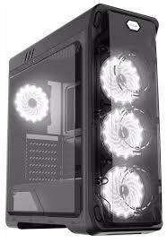 Компьютерный <b>корпус GameMax StarLight</b> Black/white — купить ...