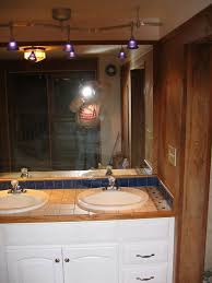 over vanity lighting. stylish track lighting bathroom vanity designs over