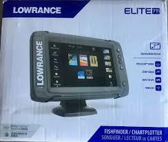 Lowrance Elite 7 Hdi Chart Maps Lowrance Elite 7 Ti Fishfinder Combo W Totalscan Transducer Navionics Maps