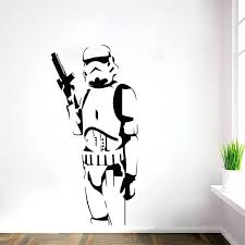 removing wall decals star wars the robot stick home decoration mural removable canada how to robot vinyl wall decals cutouts canada
