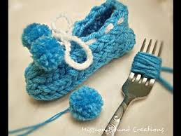 how to make pom poms with a fork you