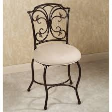 vanity chair with back and casters vanity chair with back and casters contemporary model new