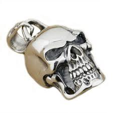 details about huge 925 sterling silver skull pendant mens biker pnuk pendant 9e008a jp 4px
