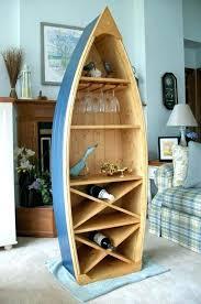 boat book shelf canoe bookcase boat wine rack glass holder bookcase shelf canoe hand these are