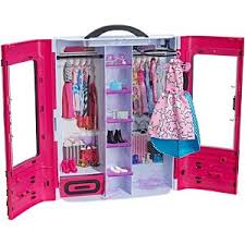 Barbie dollhouse furniture sets Sets Uk Barbie Fab Fashion Closet Pink Ezen Barbie Playsets Accessories Doll Furniture Mattel Shop