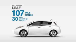 new electric car releases2017 Nissan LEAF Electric Car 100 Electric 100 Fun