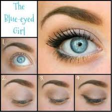 check out my latest makeup look for us blue e gals even though the