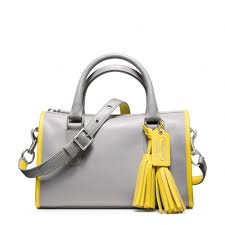 Lyst - Coach Legacy Archival Two Tone Satchel in Yellow