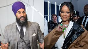 We are currently in process of looking up information on the. Jagmeet Singh Slid Into Rihanna S Dms After She Followed Him On Instagram Huffpost Canada Life