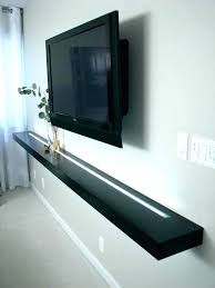 floating shelves with lights underneath display shelf 2 glass led diy lighted light wall mes