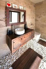glass floor bathroom unique bathroom designs unique bathroom design ideas pebble floor wooden furniture and glass