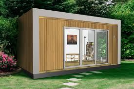 Small Picture Insulated Garden Office Contemporary Garden Office Office Pod