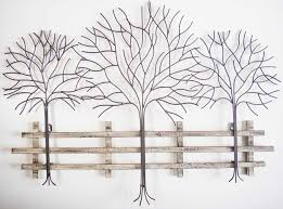 metal tree wall art contemporary metal wall art autumn tree scene you