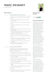 Fitness Resume Objective Best of Training Manager Sample Resume Trainer Stunning Gym For Your