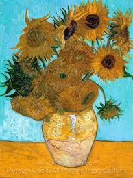 vincent van gogh sunflowers painting reion of sunflowers vincent van gogh sunflowers original painting