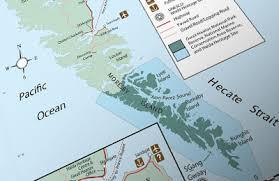 Ocean Charts Bc Maps Tide Tables Charts Gwaii Haanas National Park