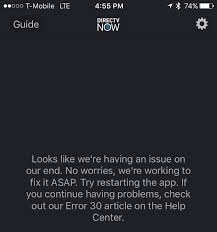 ars technica senior editor david kravets was affected by yesterday s oue being met by this error message when he tried to watch directv now