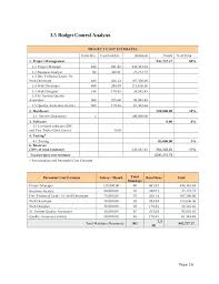 Price Proposal Template Mesmerizing Project Cost Analysis Template Budget Control On Pricing Proposal