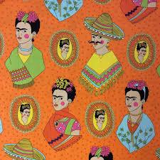 Frida Kahlo AH135 Mexican Frida Kahlo Sombrero Poncho Western ... & Frida Kahlo AH135 Mexican Frida Kahlo Sombrero Poncho Western Quilt Cotton Quilting  Fabric Adamdwight.com