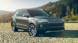 2017 Ford Edge Color Chart 2017 Ford Explorer Color Options