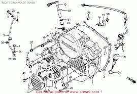 1985 honda xr350r parts related keywords suggestions 1985 honda xr350r 1985 usa right crankcase cover schematic partsfiche