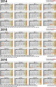 Calendar Template Pdf Unique Three Year Calendars For 48 48 48 UK For PDF