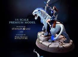 new dota 2 mirana princess of the moon collectible statue with