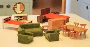 mid century modern dollhouse furniture. Midcentury Dollhouse Furniture Mid Century Modern D