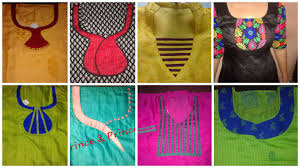 Different Types Of Blouse Back Neck Designs 2016 Neck Patterns Google Search Neck Patterns For Kurtis