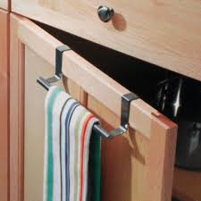 InterDesign Forma Over the Cabinet Towel Bar in Stainless Steel