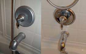 fiberglass tub cleaner glass shower door cleaner water spots on faucets