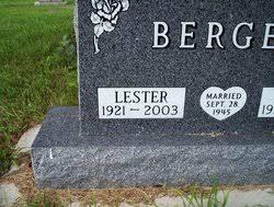 Lester Leonard Berger (1921-2003) - Find A Grave Memorial