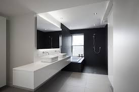 Black And White Bathroom Designs Simple Decorating Design