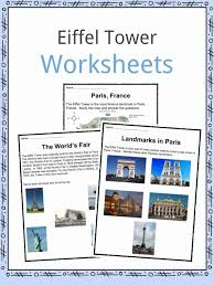 Eiffel Tower Facts, Worksheets & Monument History For Kids