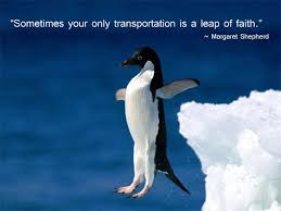 Leap Of Faith Quotes Gorgeous Faith Quotes Sometimes Your Only Transportation Is A Leap Of Faith