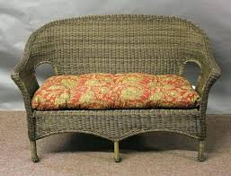 loveseats outdoor loveseat cushion wicker cushions replacement all weather about 3 piece r