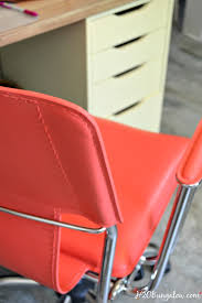 perfect smooth finish on chalk painted modern leather office chair see tutorial and pint color recipe
