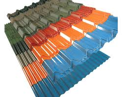 hina manufacturing zinc corrugated metal roofing sheet galvanized