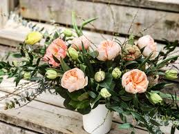 They're thoughtful, they go with here are some of the top spots to order mother's day flowers for delivery by sunday, may 12, along. Summery Peachy Flower Arrangement Take 1 The Life Of An Oakville Florist Mother S Day Flowers Free Flower Arrangements Spring Flowers Floral Wreath