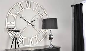 silver wall clocks contemporary for room decoration – wall clocks